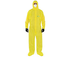 Microchem 2300 Coveralls, Yellow