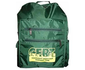C.E.R.T. Green Cordura Backpack