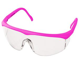 Colored Full-Frame Adjustable Eyewear, Neon Pink