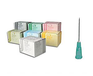 """Hypodermic Needles 22G X 1"""" , Box/100"""
