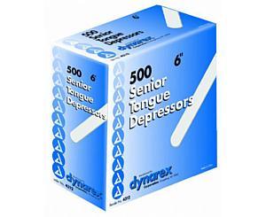 """Non Sterile Tongue Depressor 6"""" , Box/500"""