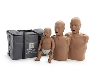 CPR/AED Training Manikin Family Pack, Light Skin