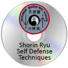 DVD- Shorin Ryu Self Defense Techniques