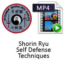 Digital Download - Volume 5 Shorin Ryu Self Defense Techniques