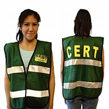 C.E.R.T. Mesh Vest with Reflective Stripes (2 per pkg)