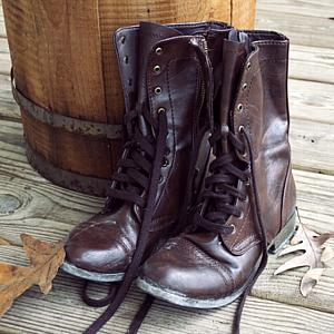 Leather Boots 5.5