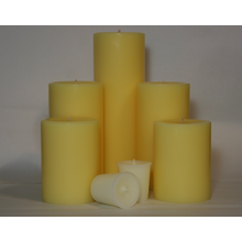 4 Inch Coconut Pillar Candle