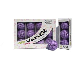 Box of one dozen Lavender on White Varick Golf balls