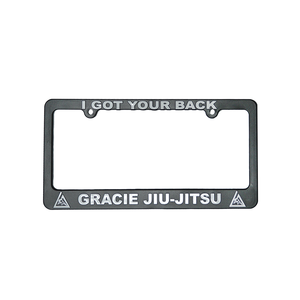 """I Got Your Back"" License Plate Frame"