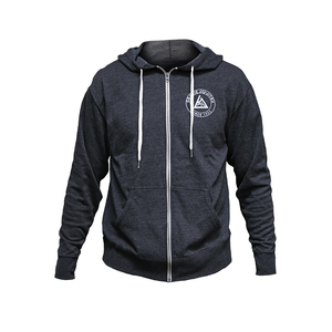 Charcoal Heather Zip