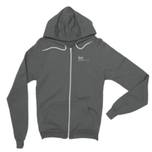 Take Territory - dark gray hoodie
