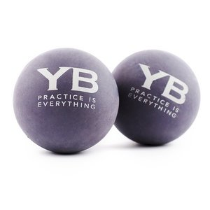 Yoga Massage Balls x2 | Hurts So Good!® by YOGABODY® | Natural Rubber Creates Human-Like Deep Tissue Massage Experience on Soft Tissues