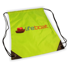 Lifeboat Drawstring Backpack
