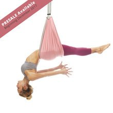 PRE-SALE Free USA Shipping Beginning of December 2017! Yoga Trapeze - Baby Pink with Free DVD Tutorials
