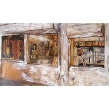 "David Choe ""Hopper's"" Signed Giclée Print"