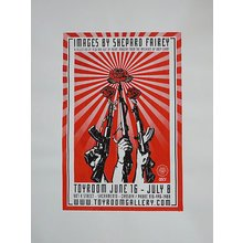 "Toyroom ""Images By Shepard Fairey"" Show Poster"