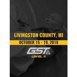 Level 2 Full Certification: Livingston County, MI (October 15-19, 2018)