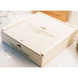 Handcrafted Presentation Box: 9 Slot (Without Tea)