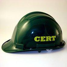 C.E.R.T. hard hat