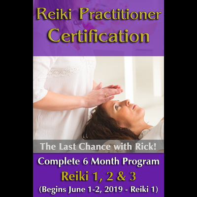 Reiki Practitioner Certification - 6 Months Program